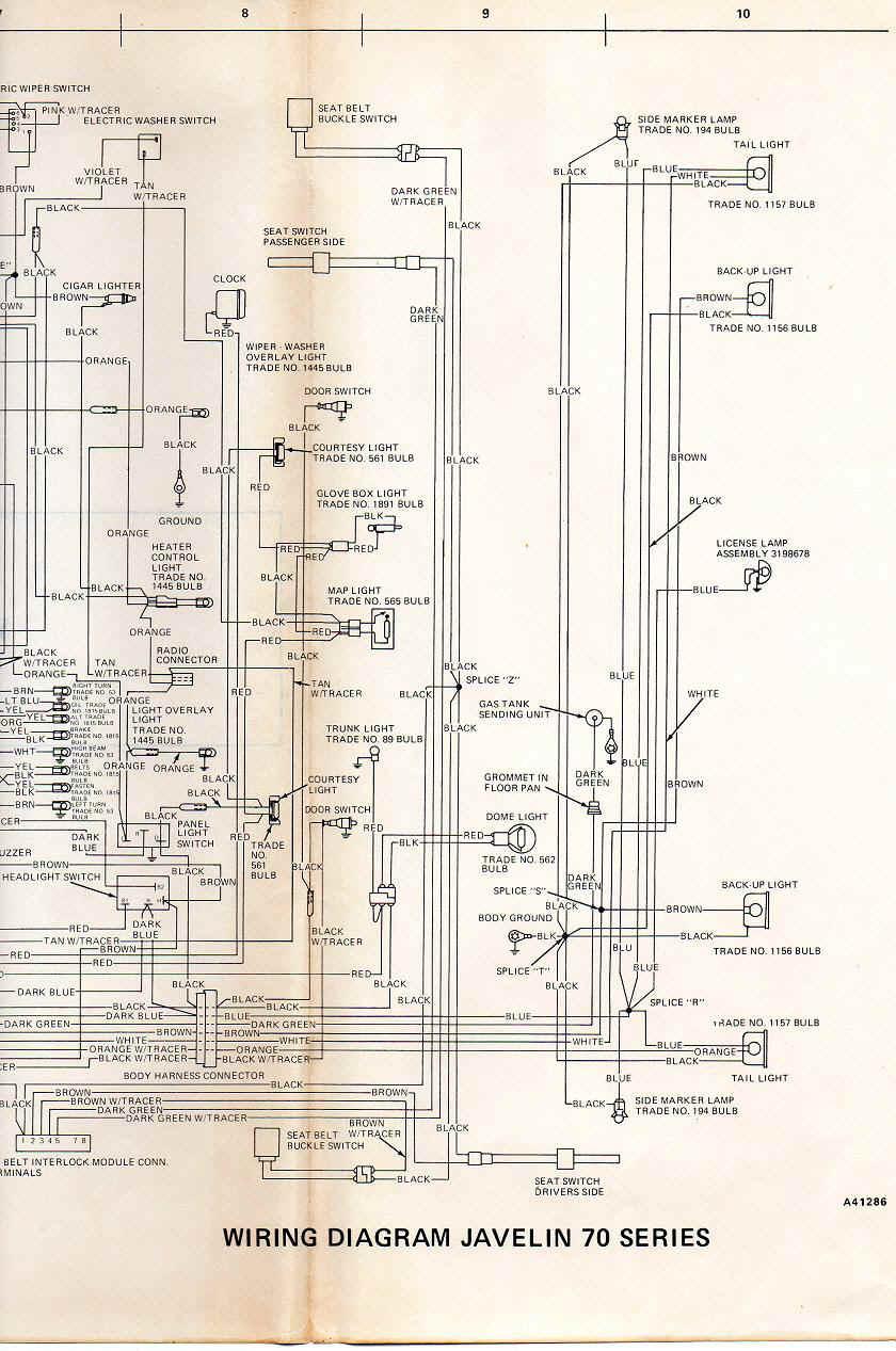 hight resolution of amc amx wiring diagram wiring diagram progresifamc electrical troubleshooting 1984 amc 360 engine wiring 74 javelin