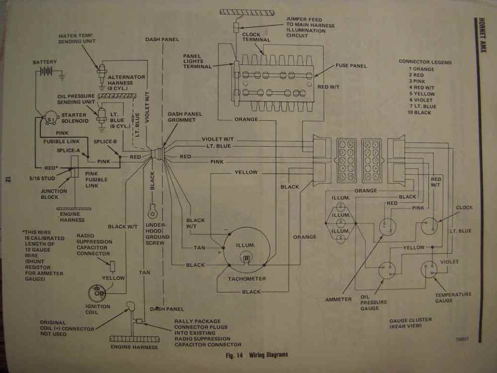 medium resolution of amc amx wiring diagram wiring diagram todaysamc electrical troubleshooting pontiac fiero wiring diagram amc amx wiring