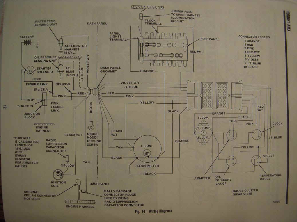 hight resolution of amc amx wiring diagram wiring diagram todaysamc electrical troubleshooting pontiac fiero wiring diagram amc amx wiring