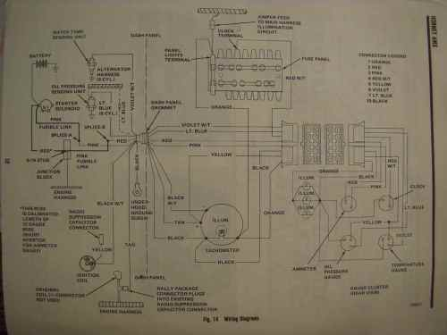 small resolution of amc amx wiring diagram wiring diagram todaysamc electrical troubleshooting pontiac fiero wiring diagram amc amx wiring