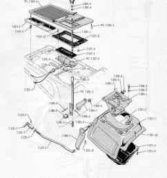 amc 68 69 automatic console floor mount shifter borg warner m 11 m12  [ 845 x 1250 Pixel ]