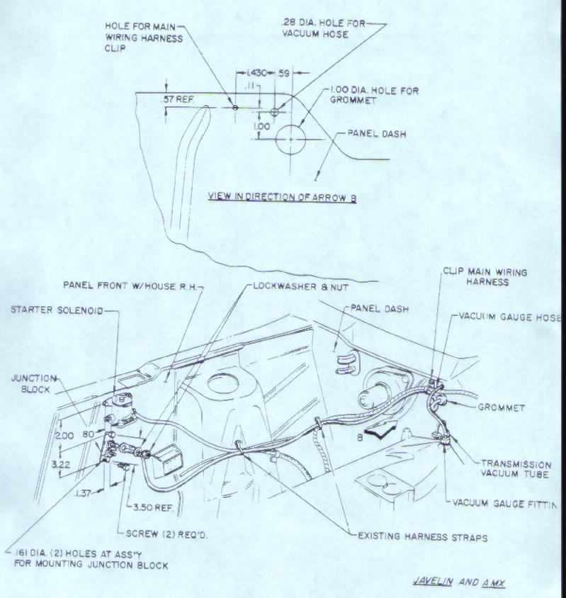 1975 ford duraspark wiring diagram class 3b laser ii database amx ignition 1979 amc javelin databaseamx 68