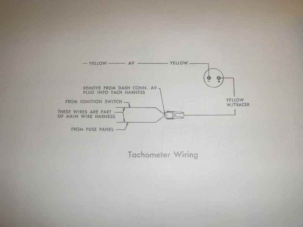 medium resolution of amc electrical troubleshooting 1968 triumph tr250 wiring diagram 1968 amc javelin tachometer wiring diagram
