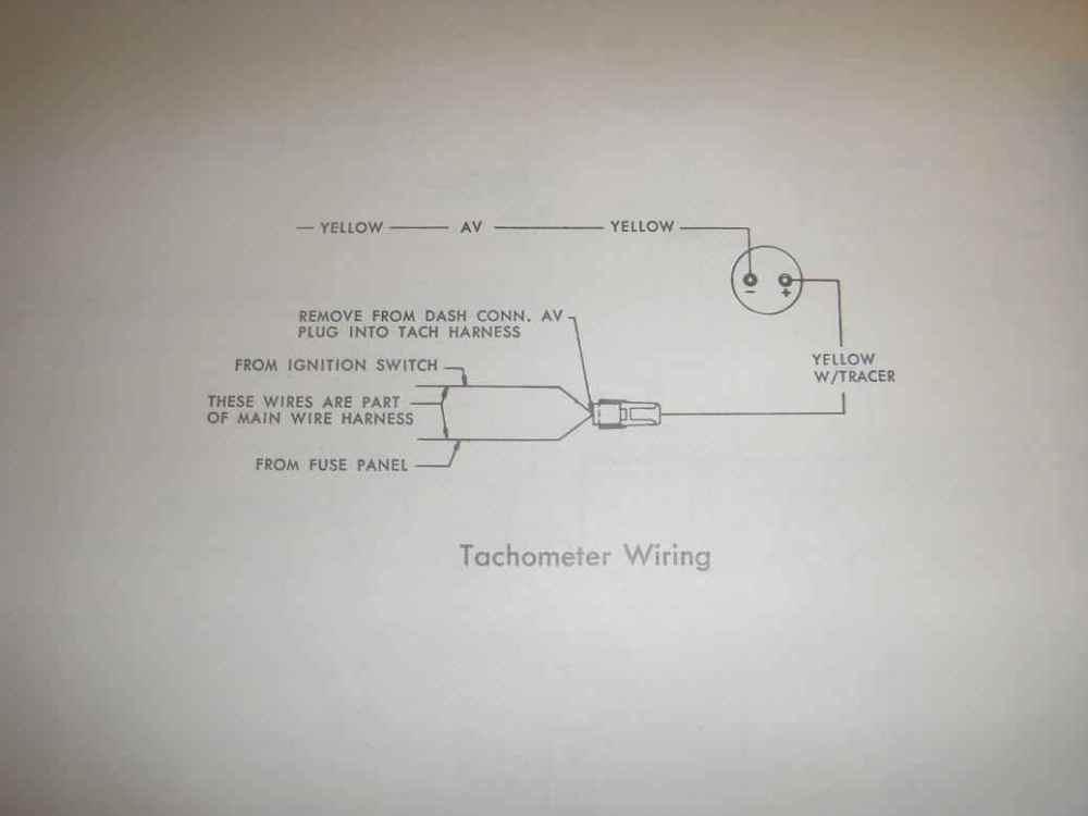 medium resolution of amc electrical troubleshootingamc hornet gremlin tachometer wiring jpg 47147 bytes