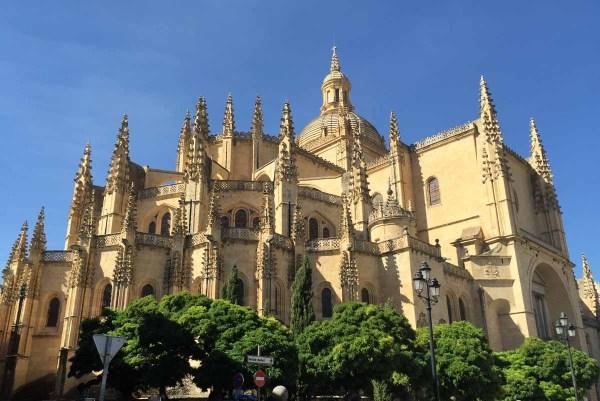 Segovia Cathedral Spain