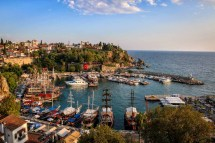 Old Town Antalya Turkey