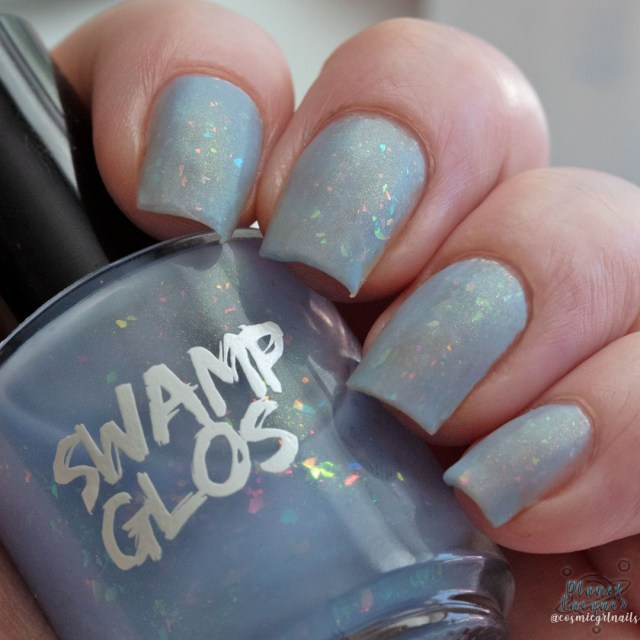 Sup by Swamp Gloss pictured here in matte natural sunlight