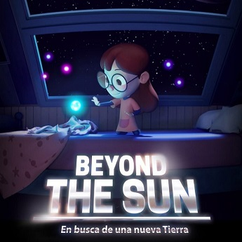 Cartel de la proyección Beyond the Sun