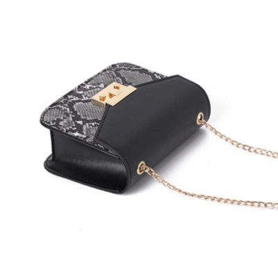 Handbags Trends-Snake Skin Leather Bags