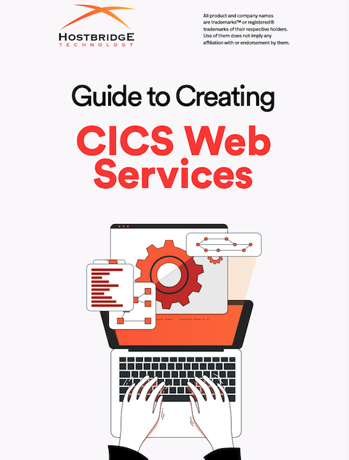 CICS Web Service Guide Cover
