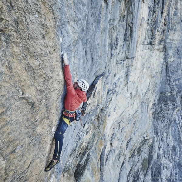North Face Eiger Climbing Routes