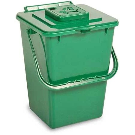 kitchen compost container glad trash bags carrier 9 6qt planet natural