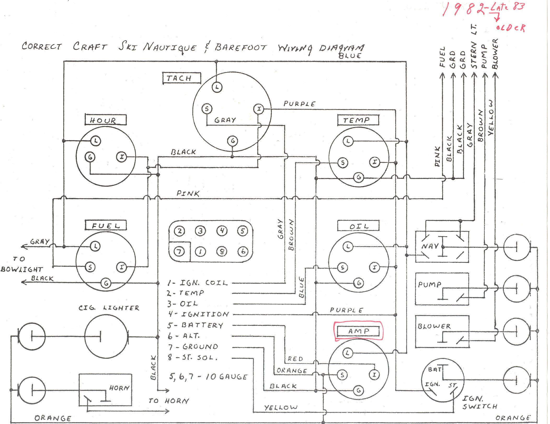 1983 Sea Ray 190 Wiring Schematic : 33 Wiring Diagram