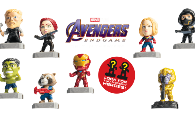 Mcdonald S Avengers Endgame Happy Meals Planet Nestor
