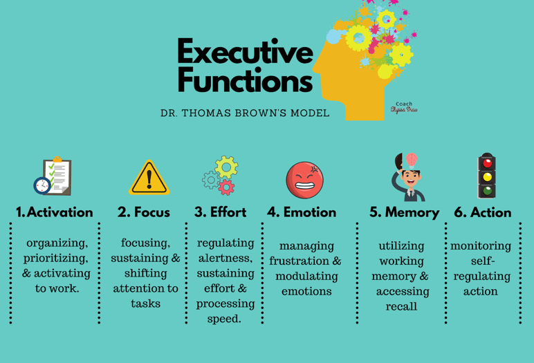 Dr Thomas Brown's model of executive functioning