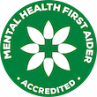 Mental Health First Aider Accredited Logo