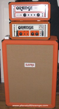 ORANGE 6x12 Speaker Cabinet for Guitar and Bass Players.