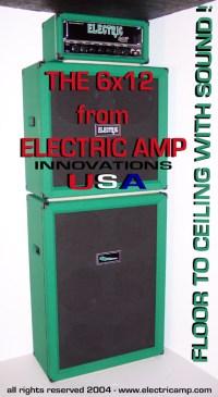 ELECTRICAMP 6x12 Speaker Cabinet