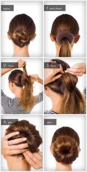 amazing step bun hairstyles