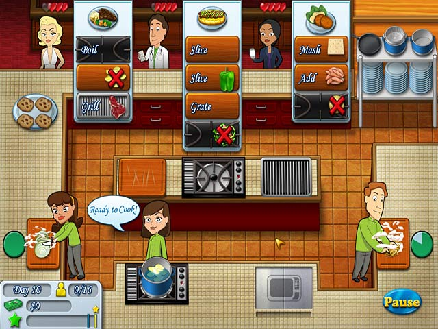 Kitchen Brigade GamePlay Free Download GamesOzzoom Games