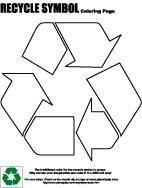 Recycle Symbols Clip Art Free