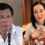 President Duterte apologizes to Kris Aquino