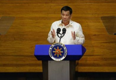 China rebuffs Philippines president's South China Sea rebuke