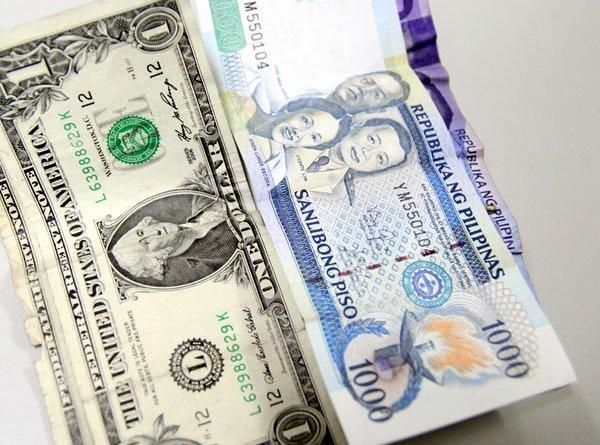 Peso drops past P54 amid market jitters