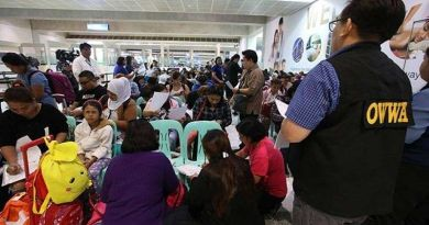 Deployment of OFWs will continue to decline in 2019