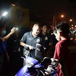 Over 50 motorcycle riders apprehended for noisy mufflers in Muntinlupa City