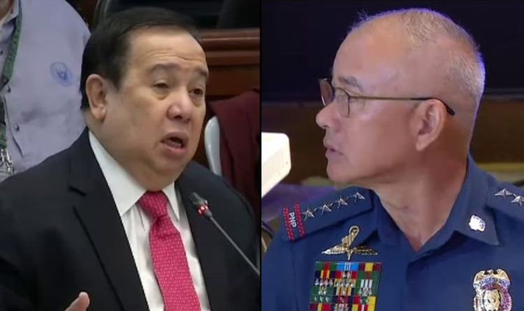 There's a 'very, very strong case' against Albayalde, Gordon says