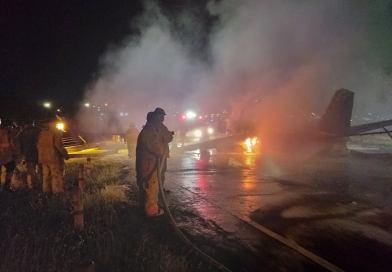 8 killed as fire engulfs plane on NAIA runway