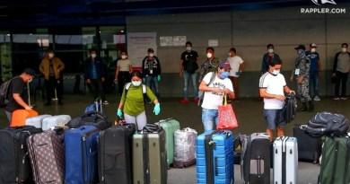 OFWs transiting Metro Manila to be sent home within 5 days