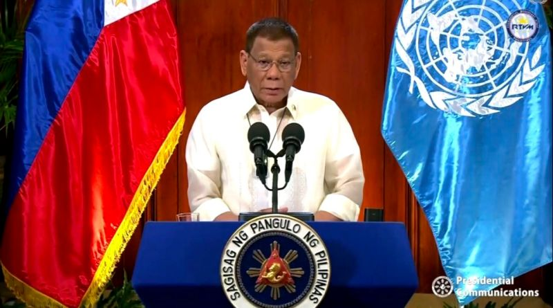 Duterte gets rare praise for raising sea feud ruling at UN