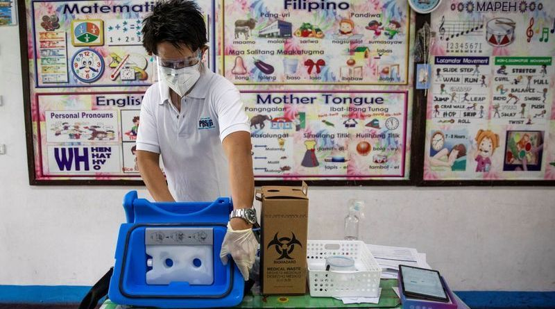Philippines to receive first COVID-19 vaccines, start inoculations next week