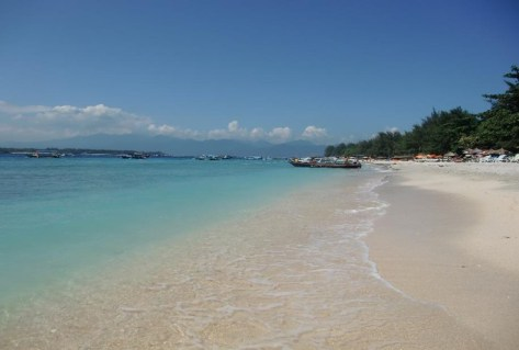 Spiaggia a Gili Trawangan