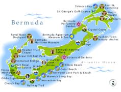 Mappa di Bermuda
