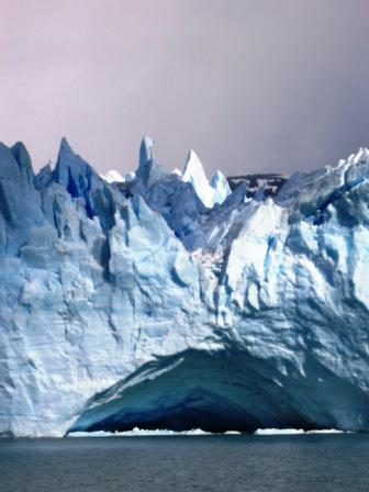 """Il ghiacciaio Perito Moreno, Parco Naturale """"Los Glaciares"""", provincia di Santa Cruz"""