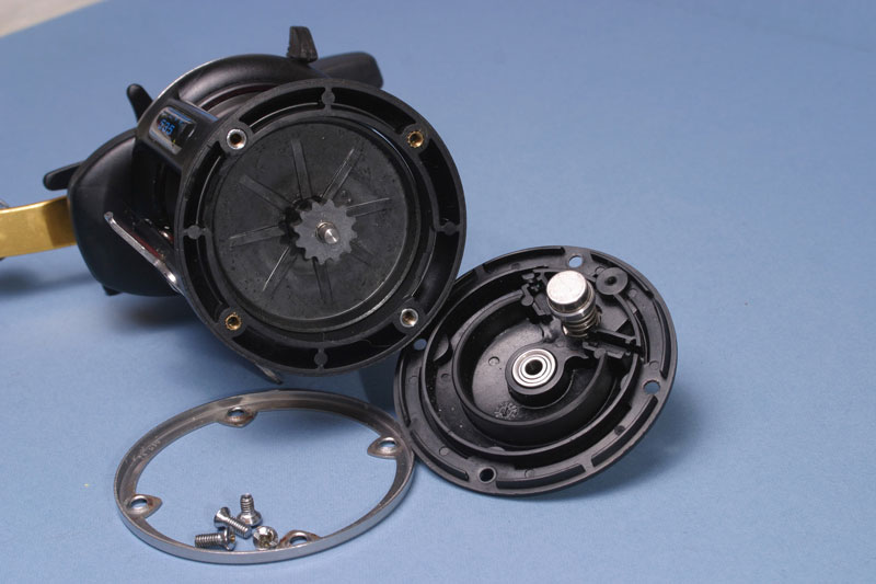 Step 1 - Penn 535GS Mag T reel tuning guide
