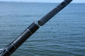 Ian Golds shore rods spigot joint