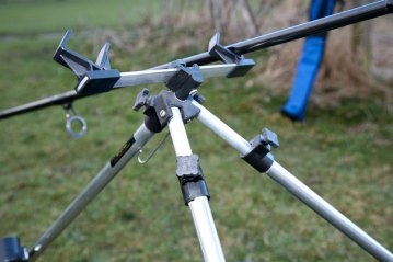 the upper section of Ian Golds Telescopic Tripod