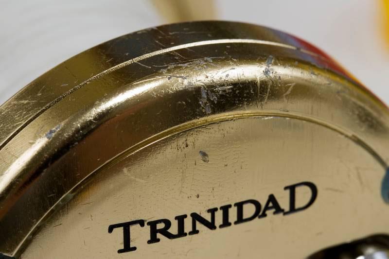 Shimano Trinidad TN14 multiplier reel wear and tear
