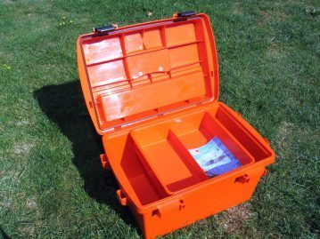a large Sportsmans Utility Dry Boxes