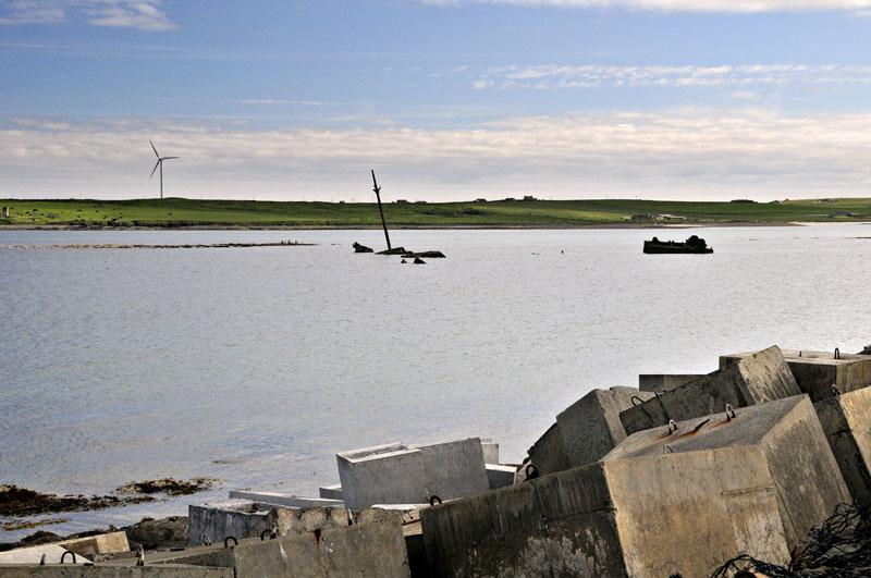 the wrecks in Scapa Flow