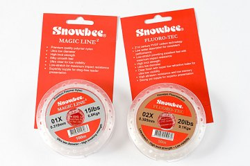 Snowbee Magic Line & Fluro-Tec fluorcarbon