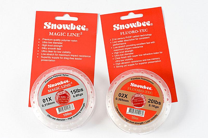 Snowbee Magic Line & Fluro-Tec fluorcarbon