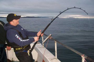 Sea Angling for Beginners - Rod Types heavy boat