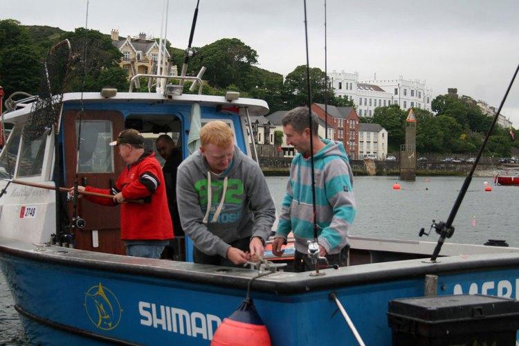 manx fishing festival charter boat