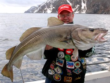fishing in Repvag Norway