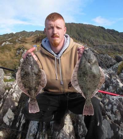 An Irish Angler's Year flounder